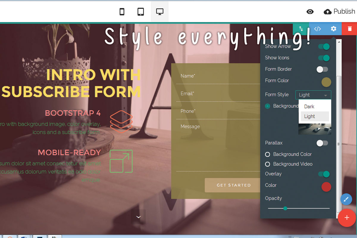 HTML5 Responsive Web Page Creator Review