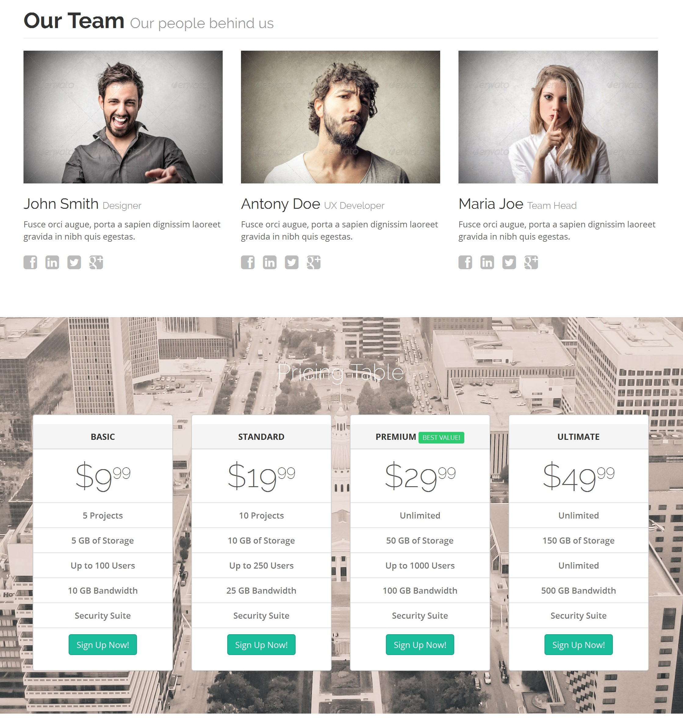 Free Download Bootstrap Portal Theme