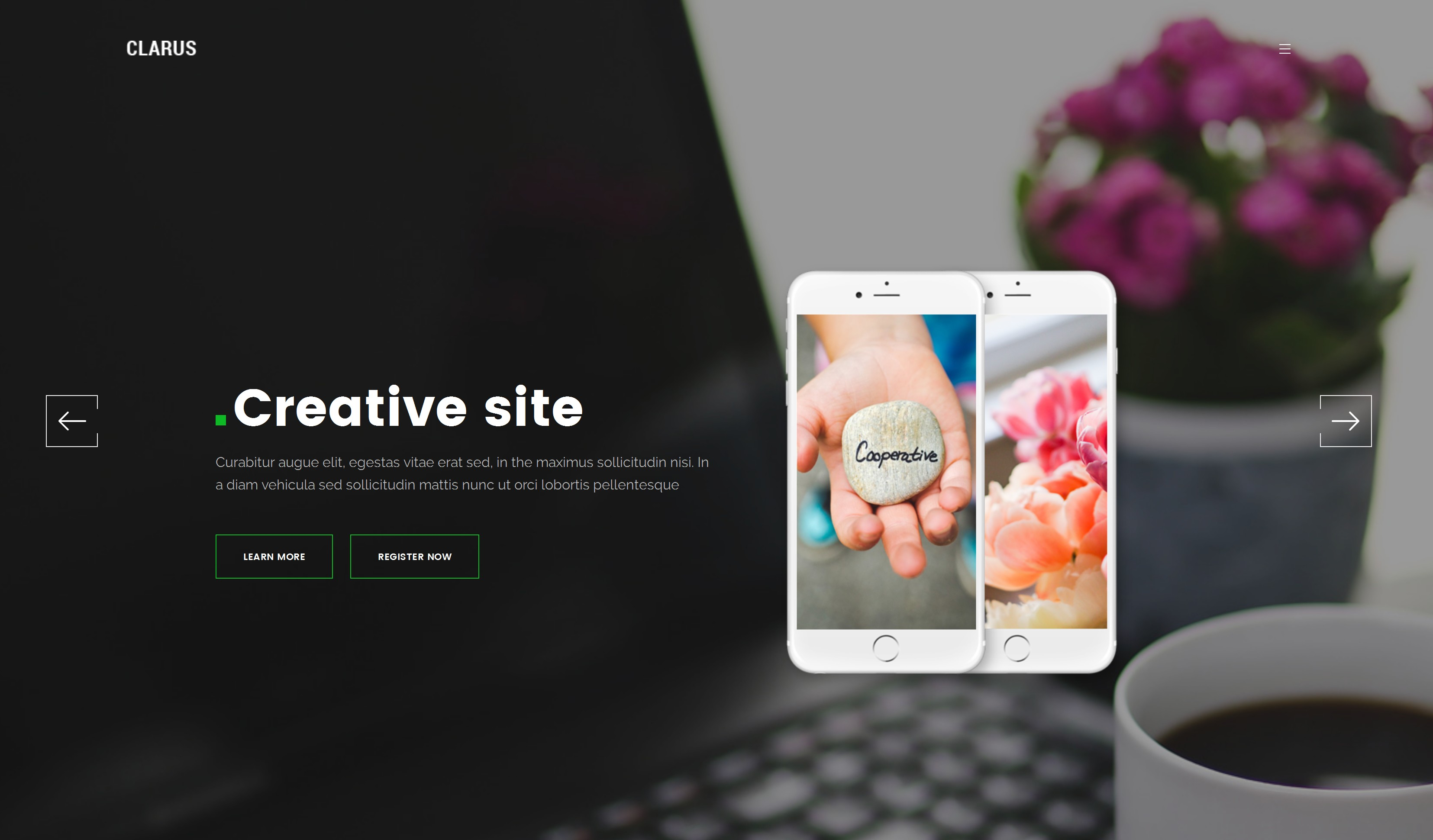 Responsive Bootstrap Blog Theme