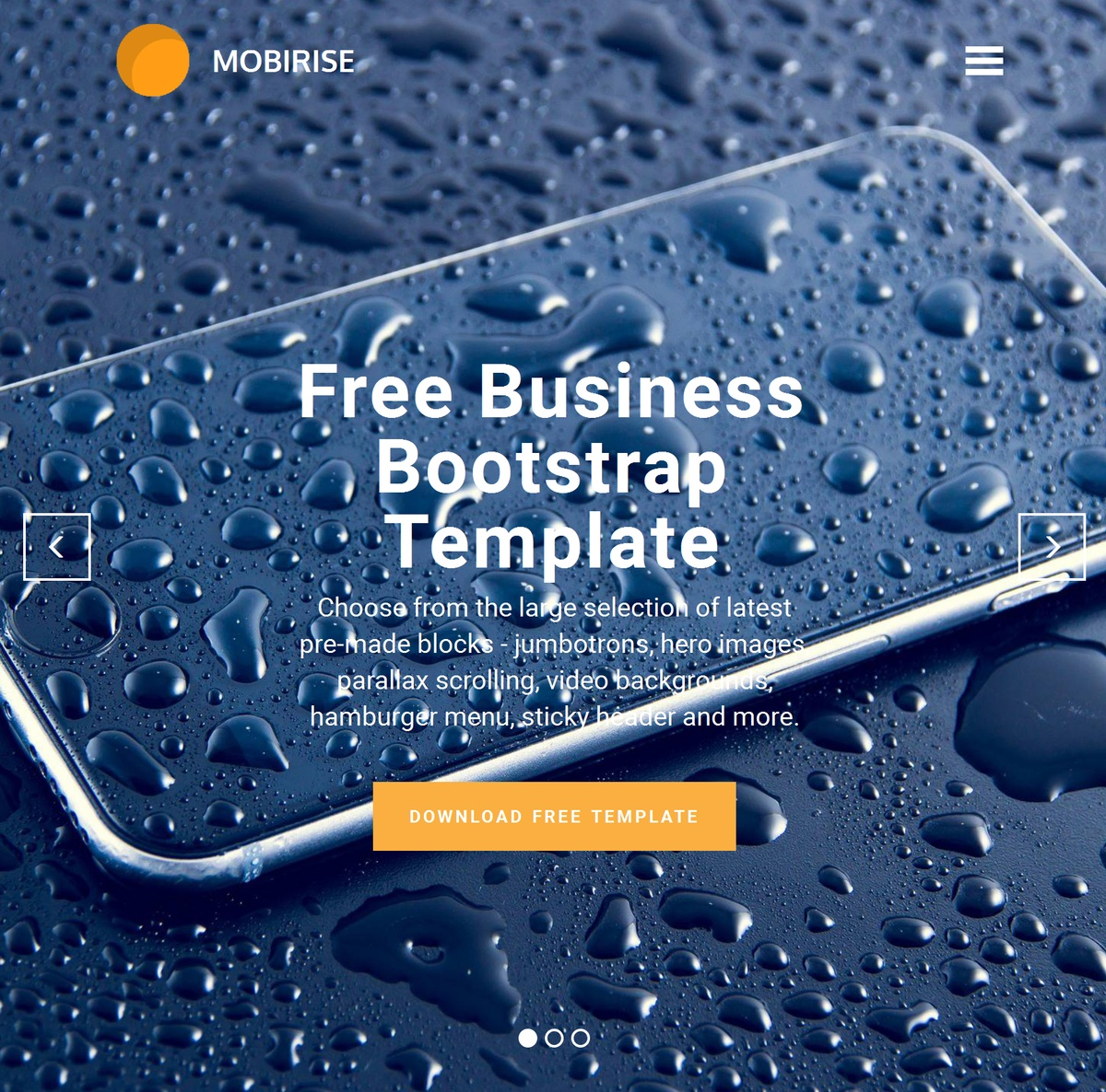 Responsive Website Templates Themes Extensions