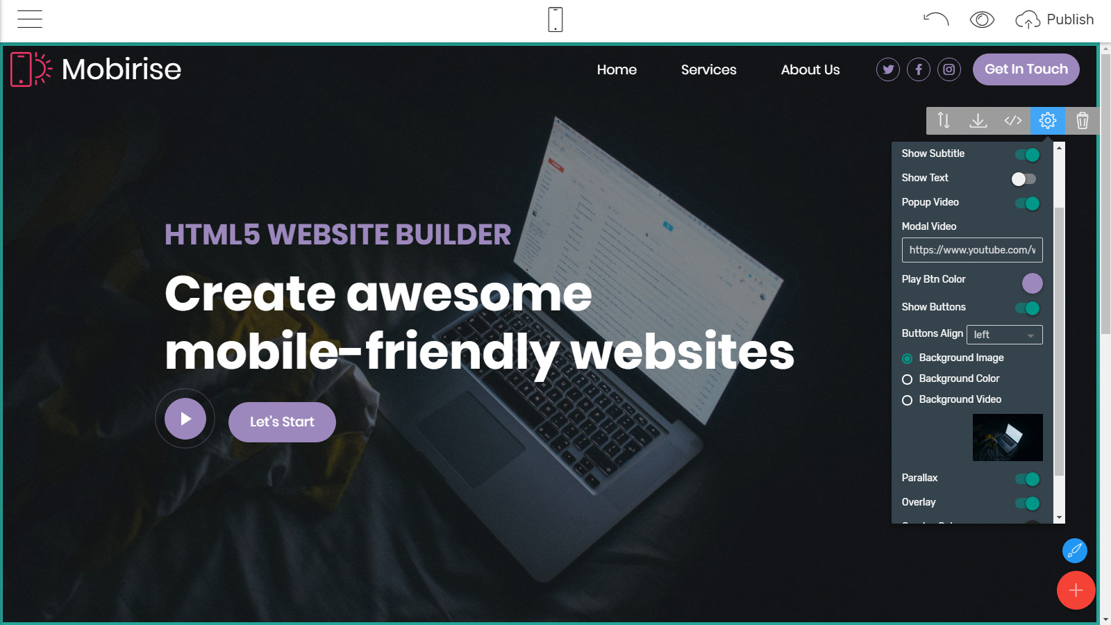 bootstrap webpage templates